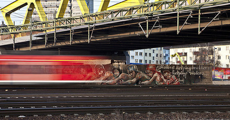 New Herakut Mural in Germany | Street Art | World of Street & Outdoor Arts | Scoop.it