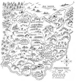 Ohio Archaeology Blog: PREHISTORIC MAP OF OHIO | Archaeology News | Scoop.it
