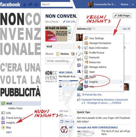 Cambiano gli Insights per le Pagine Facebook   NON CONVENZIONALE blog   Social media culture   Scoop.it