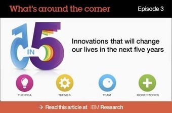 The IBM 5 in 5: Innovation in the next 5 years « Learning in the Social Workplace | Future Trends and Advances In Education and Technology | Scoop.it