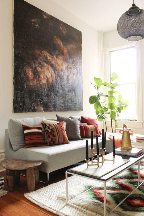 Vintage Layered Rugs - evolve design build | interior design | Scoop.it