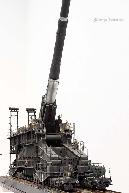 "German 80cm K(E) Railway Gun "" Dora ""  1/35 SOAR ART | Military Miniatures H.Q. | Scoop.it"
