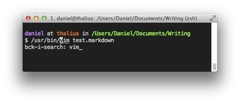 9 Enhancements to Shell and Vim Productivity   danielmiessler.com   A better work   Scoop.it