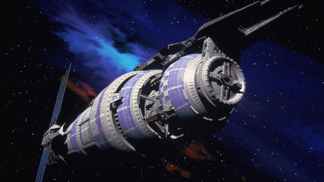 This guy spent over half a year building Babylon 5 out of LEGOs | Heron | Scoop.it