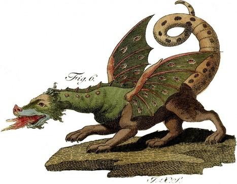 Amazing Vintage Dragon Image - Rare! - The Graphics Fairy   Decoupage   Scoop.it