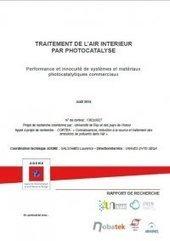Traitement de l'air intérieur par photocatalyse – ADEME | qualité de l'air intérieur | Scoop.it