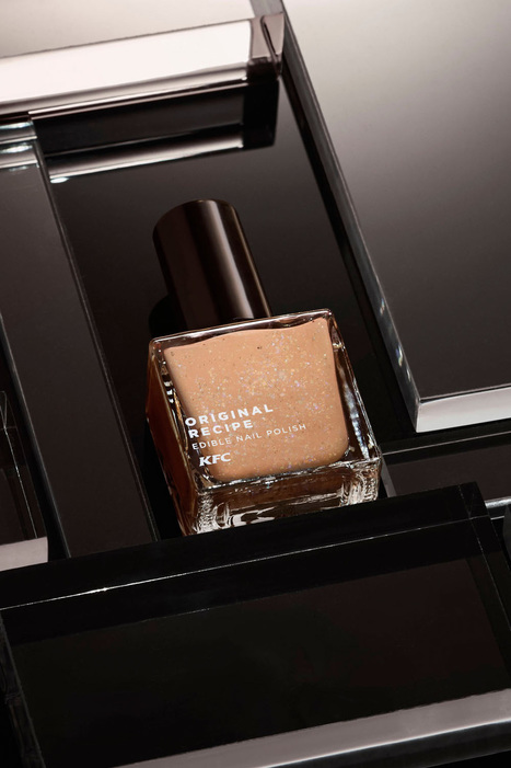 KFC Just Made Edible 'Finger Lickin' Good' Nail Polish That, Yeah, Tastes Like Chicken | Soup for thought | Scoop.it