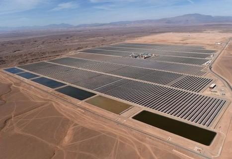 Morocco's Massive Desert Solar Project Starts Up | Entrepreneurship, Innovation | Scoop.it