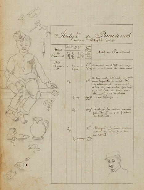 [Inédit] Extrait d'un cahier de conscrit, 1913 | Facebook | GenealoNet | Scoop.it