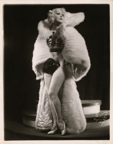 Original early 1930s view of the lovely Burlesque showgirl and later Hollywood star Marion Martin | 'THE ARTS' | Scoop.it