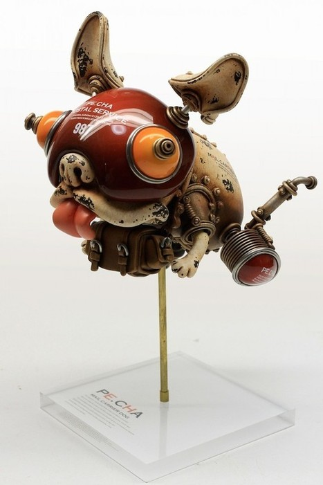 Playful Steampunk Sculptures | Changer la donne | Scoop.it