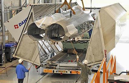 SIAé: livraison du premier fuselage de Rafale M remis au standard F3 | Défense et aéronautique | Scoop.it