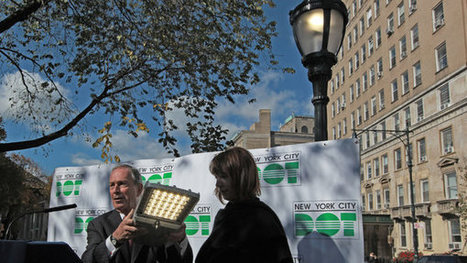 City to Fit All Streetlights With Energy-Saving LED Bulbs - New York Times | NY EE | Scoop.it
