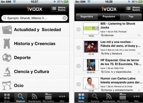 iVoox, el servicio de publicación de archivos de audio, ya para iPhone y Android   Edu-Recursos 2.0   Scoop.it