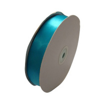Satin Ribbon (25mm x 45metres) - Teal | Satin Ribbon | Scoop.it