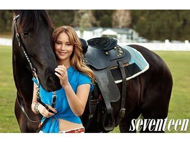 5 Horsey Things You Didn't Know About Jennifer Lawrence | Jennifer Lawrence | Scoop.it