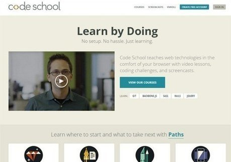 35 Great Online Resources for Learning Web Design and Development | web development | Scoop.it