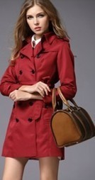 New Burberry Women Trench Coat 095 Red [B003313] - $208.00 : Burberry Outlet Stores,Burberry Outlet Online,Cheap Burberry For Sale | Burberry Oultet | Scoop.it