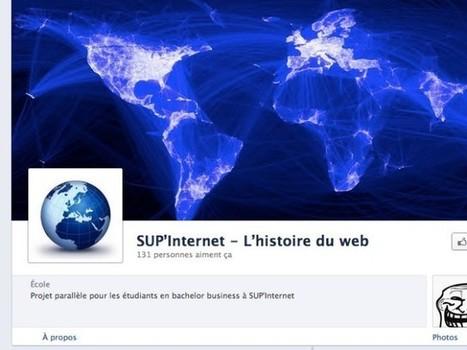 Facebook : une Timeline dédiée à l'histoire du web | Cabinet de curiosités numériques | Scoop.it