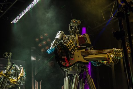 These rocking robots will change how you think about music | Chasing the Future | Scoop.it