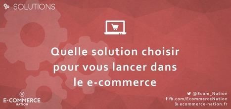 Quelle solution choisir pour vous lancer dans le e-commerce | Auto-entrepreneur, PME, TPE, E-commerce | Scoop.it