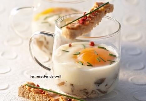 OEUFS COCOTTE FACON FORESTIÈRE | Recettes de cuisine | Scoop.it
