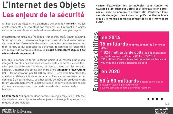 [NOTE de SYNTHESE] Internet des Objets : quels enjeux pour la sécurité ?   Internet du Futur   Scoop.it