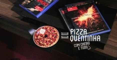 Domino's Creates Disk that Smells and Looks Like Pizza when Played | Strange days indeed... | Scoop.it