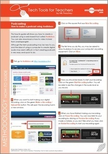 Tech Tools for Teachers Series | Onestopenglish | HigherEd Technology 2013 | Scoop.it