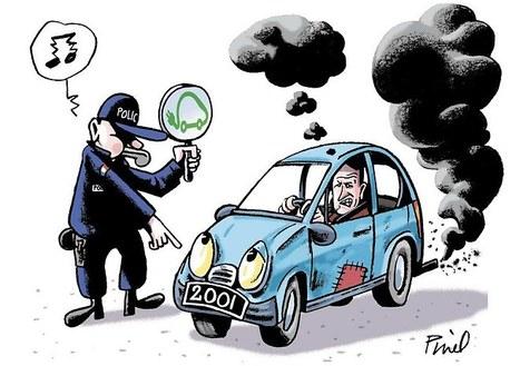 Pollution automobile: gareaux raccourcis   Mobilis - Véhicule communicant et automatisation   Scoop.it