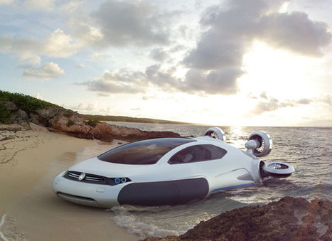 Futuristic Volkswagen Aqua Air-Cushion Vehicle | Tuvie | Venir, partir, mobilité, migration, voyagé | Scoop.it