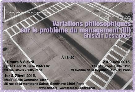 Programme 2014-2015 février à juin   Philosophie aujourd'hui   Scoop.it