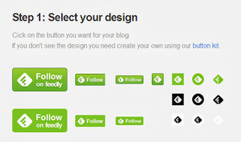 How to add a Feedly follow button to your blog | Blogging tips | Scoop.it