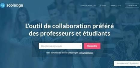Scoledge. Espace de travail collaboratif pour l'éducation – Les Outils Tice | Les outils du Web 2.0 | Scoop.it