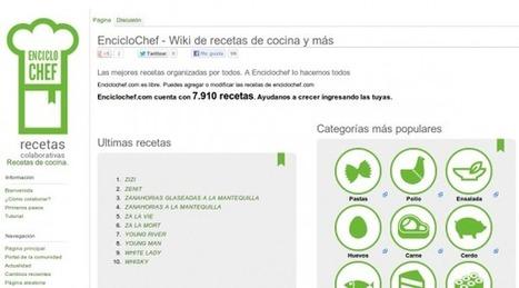 enciclochef, una Wikipedia de recetas de cocina en español.-   Recursos didácticos de Apoyo   Scoop.it