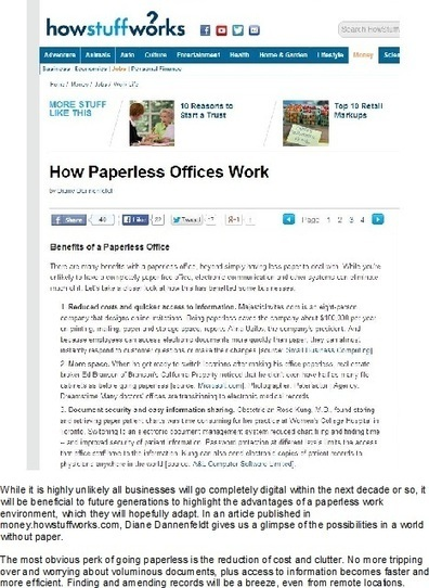 Document Scanning Services: The Best Things About Going Paperless | Spectrum Information | Scoop.it