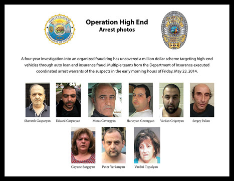 4-year auto theft, insurance scam investigation leads to arrests - Los Angeles Times | Insurance | Scoop.it