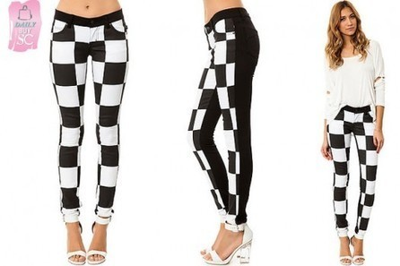 Daily Buy: The Checkerboard Jeans | StyleCard Fashion Portal | StyleCard Fashion | Scoop.it