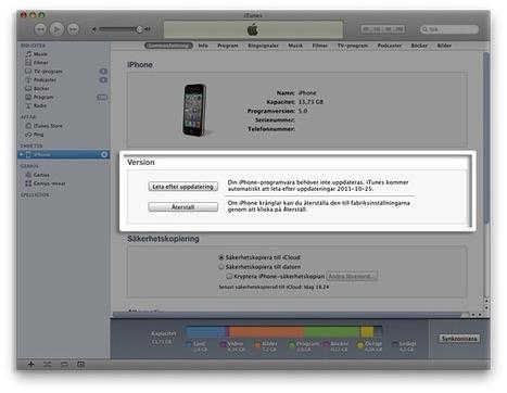 iOS: Så här uppdaterar du din iPhone, iPad och iPod touch | IKT och iPad i undervisningen | Scoop.it