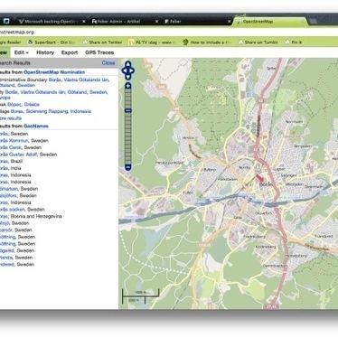 Microsoft stödjer OpenStreetMap | Folkbildning på nätet | Scoop.it
