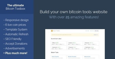 The Bitcoin Toolbox Download | PHP Scripts Download | Scoop.it
