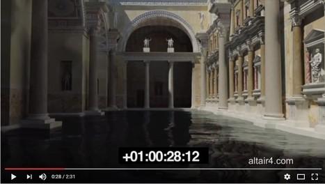 VÍDEO: Recreación virtual de las termas de Caracalla | LVDVS CHIRONIS 3.0 | Scoop.it
