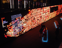IBM Think Exhibit - Data Wall | Foresight Research Irregular | Scoop.it