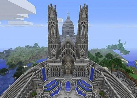 Pixeledme minecraft cathedral minecraft world save minecraft