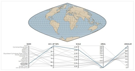 Map Projections Compared And Visualized - Geoawesomeness | cartography | Scoop.it