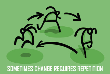 SOMETIMES CHANGE REQUIRES REPETITION | Culturational Chemistry™ | Scoop.it