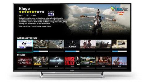 UltraFlix 4K service coming to Sony's TVs - FlatpanelsHD   4K Ultra HD   Scoop.it