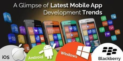 A Glimpse of Latest Mobile App Development Trends | Technology and Gadgets latest news | Scoop.it