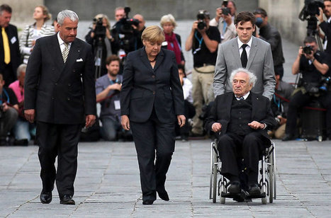 At Dachau, Merkel Warns of Extremism - New York Times | From the fall of Rome to today -History | Scoop.it
