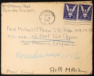 Lettre de Marianne au soldat américain O'Brien, 1945 #2   HistoBook   GenealoNet   Scoop.it